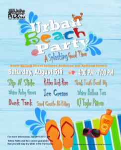 Urban Beach Party @ Uptown Selma | Selma | North Carolina | United States