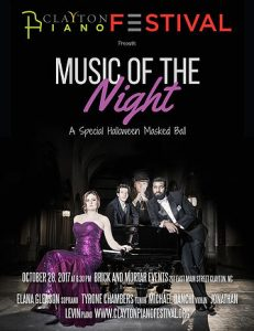 Clayton Piano Festvial: Music of the Night @ Bricks and Mortar | Clayton | North Carolina | United States