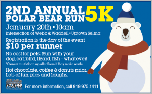 2nd Annual Polar Bear Run @ Uptown Selma - Webb and Waddell Street  | Selma | North Carolina | United States