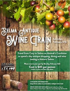 Selma Antique Wine Train @ Uptown Selma  | Selma | North Carolina | United States