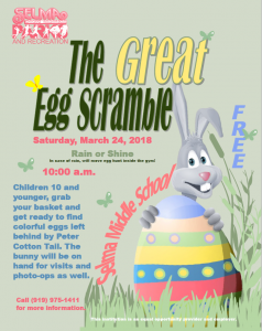The Great Egg Scramble @ Selma Middle School | Selma | North Carolina | United States