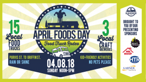 APRIL FOODS DAY Food Truck Rodeo @ Downtown Garner | Garner | North Carolina | United States