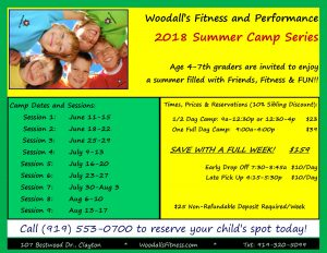 Summer Camp! @ Woodall's Fitness and Performance | Clayton | North Carolina | United States