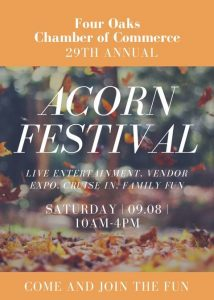 Acorn Festival @ Acorn Festival  | Four Oaks | North Carolina | United States