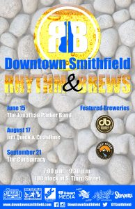 Downtown Smithfield Rhythm & Brews @ Downtown Smithfield | Smithfield | North Carolina | United States