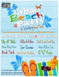 Urban Beach Party @ Uptown Selma - Raiford and Railroad Streets | Selma | North Carolina | United States