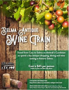 Selma Antique Wine Train @ Selma, NC | Selma | North Carolina | United States