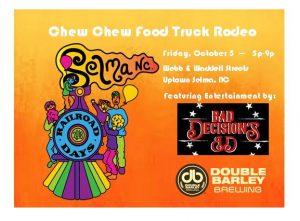 Chew Chew Food Truck Rodeo @ Uptown Selma | Selma | North Carolina | United States