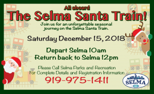 Selma Santa Train @ Historic Union Depot