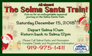 Selma Santa Train @ Historic Union Depot