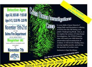 CSI Camp @ Selma, NC Fire Department | Selma | North Carolina | United States