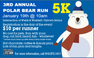 Polar Bear Run @ Uptown Selma  | Selma | North Carolina | United States