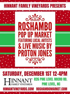 Holiday Sip n Shop @ Hinnant Family Vineyards | Pine Level | North Carolina | United States