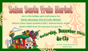 Selma Santa Train @ Selma Historic Union Depot | Selma | North Carolina | United States