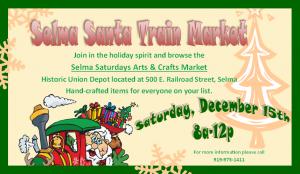 Selma Santa Train @ Selma Historic Union Depot | Selma | North Carolina | United States