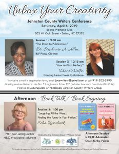 Johnston County Writers Conference @ Selma Woman's Club | Zebulon | North Carolina | United States