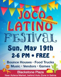 JoCo Latino Festival @ Blackstone Plaza