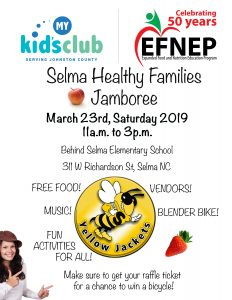 Selma Healthy Families Jamboree @ Selma Elementary School | Selma | North Carolina | United States
