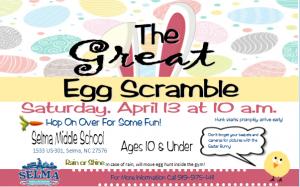 The Great Egg Scramble @ Selma Middle School | Selma | North Carolina | United States