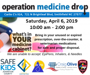 Operation Medicine Drop @ Carlie C's IGA | Smithfield | North Carolina | United States