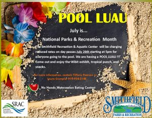 POOL LUAU @ Smithfield Recreation & Aquatic Center | Smithfield | North Carolina | United States