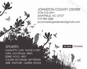 Birds, Bees, Butterflies & Growing Pollinator Gardens @ Birds, Bees, Butterflies & Growing Pollinator Gardens | Smithfield | North Carolina | United States