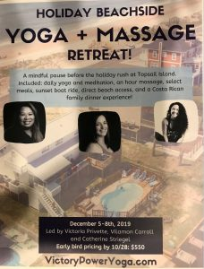 Yoga & Massage Retreat @ Victory Power Yoga | Clayton | North Carolina | United States