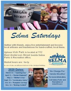 Selma Saturdays @ Vick Park | Selma | North Carolina | United States