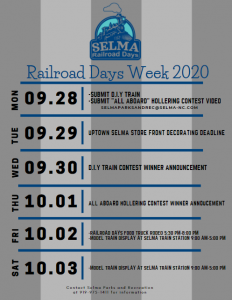 Selma Railroad Days Festival @ Uptown Selma | Selma | North Carolina | United States