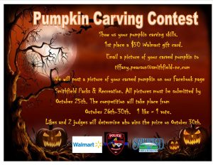 Pumpkin Carving Contest @ Virtual Event submit pictures through email | Smithfield | North Carolina | United States
