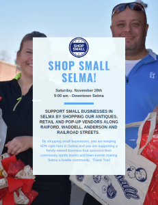 Shop Small Selma @ Uptown Selma