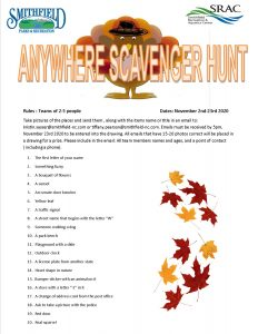 ANYWHERE SCAVENGER HUNT @ Virtual Event submit pictures through email | Smithfield | North Carolina | United States