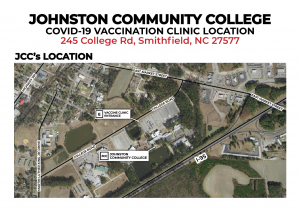 Vaccination Event Johnston Community College. @ Johnston Community College | Smithfield | North Carolina | United States