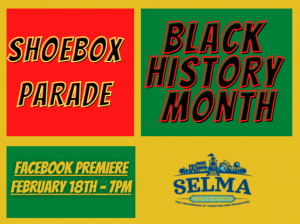 Black History Month Shoebox Parade @ Selma Parks and Recreation, 112 E. Anderson Street | Selma | North Carolina | United States