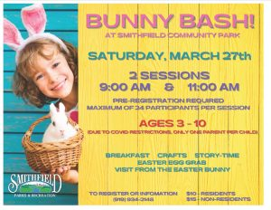 Bunny Bash @ Smithfield Community Park Rotary Shelter | Smithfield | North Carolina | United States