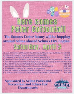 Here Comes Peter Cottontail @ Selma, NC | Selma | North Carolina | United States