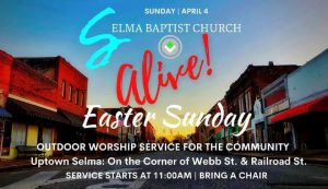 Selma Baptist Church ALIVE! @ Downtown Selma | Selma | North Carolina | United States