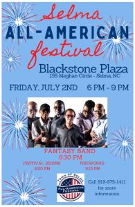 All-American Festival @ Blackstone Plaza | Selma | North Carolina | United States