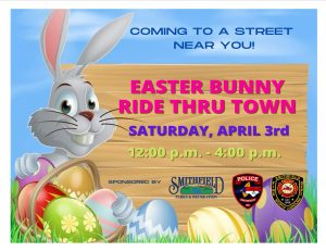 Easter Bunny Ride Thru Town @ Smithfield NC   Smithfield   North Carolina   United States