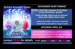Selma Around Town Most Egg-cellent Adventure Easter Egg Hunt @ Downtown Selma | Selma | North Carolina | United States